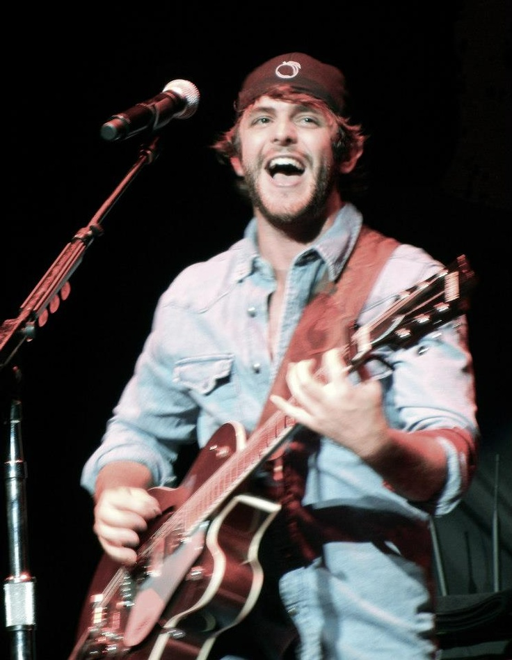 Thomas Rhett during Toby Keith's 'Live In Overdrive' Tour – Boston MA | TheCountryPaparazzi