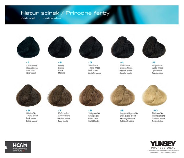 Yunsey Hair Color Naturals.