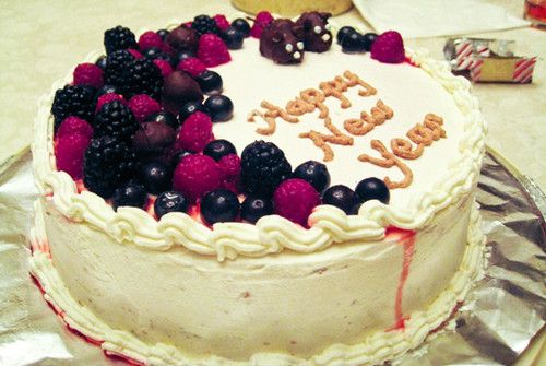 New Year Cakes Ideas: Decorative 2015 New Year Cakes Wallpapers 2016
