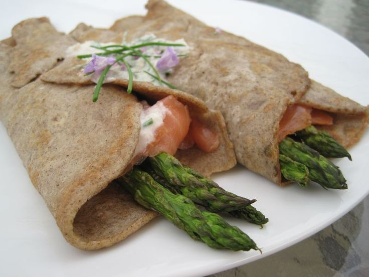 Buckwheat crepes...gluten free and potentially dairy free...are divine ...