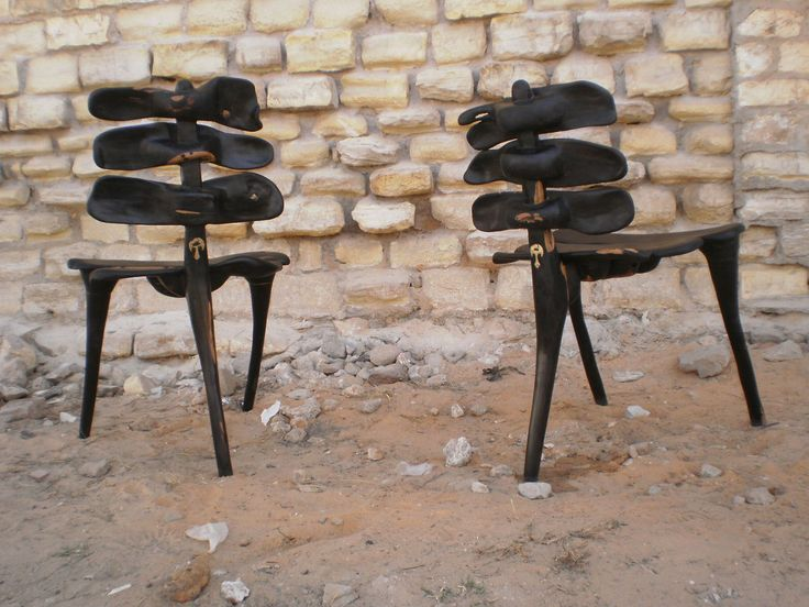 Chairs - vertèbre   by Babacar Mbodj NIANG