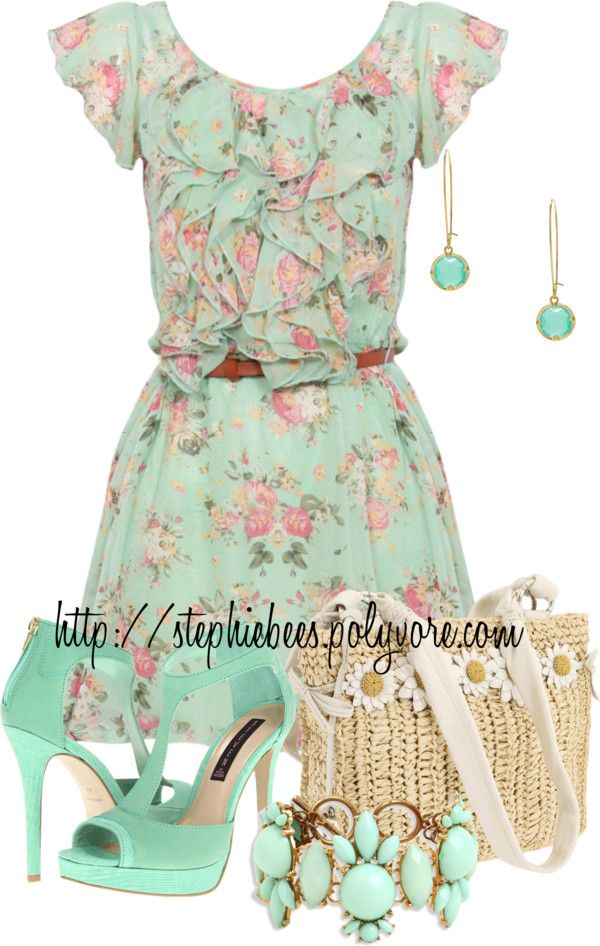 """""""Spring"""" by stephiebees on Polyvore"""