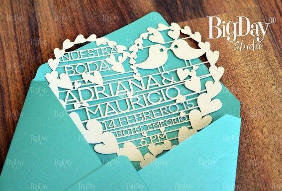 tarjetas eco friendly matrimonio - Buscar con Google