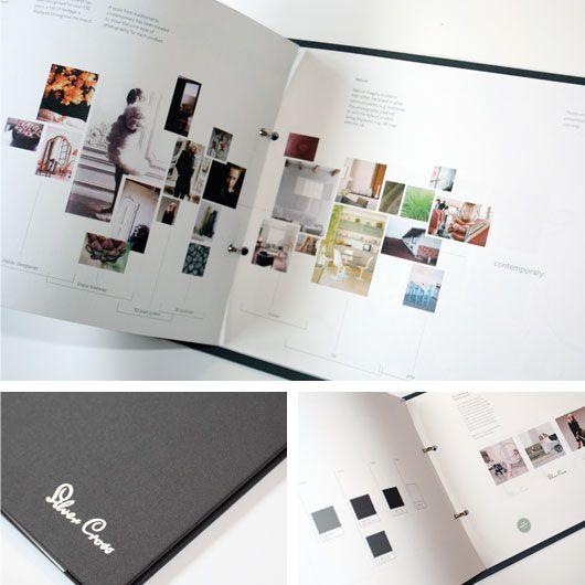Silver Cross Brand identity guideline guide book bound literature