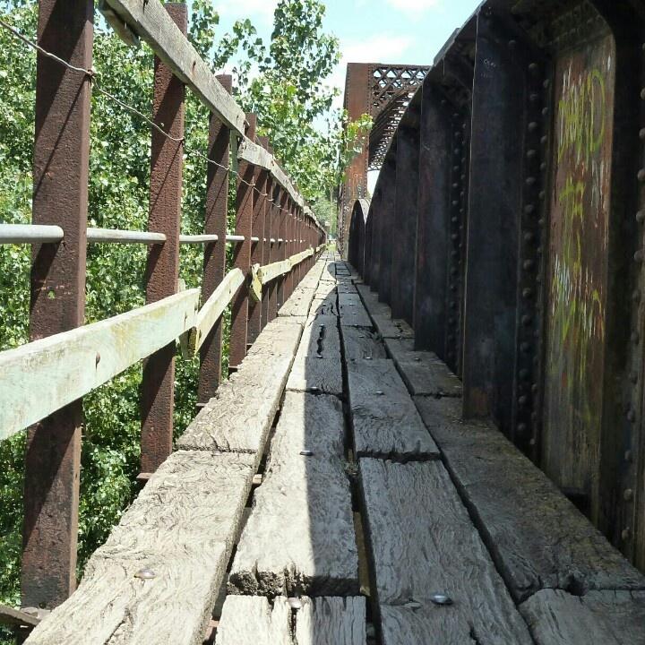 Puente Ferrocarril, Sierra de la Ventana, Argentina