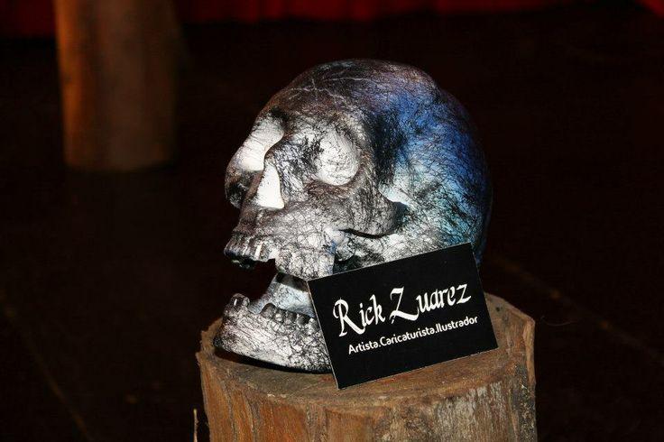 Calavera Artista: Rick Zuarez