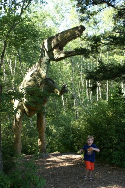 Day Trip: Travel Back In Time at The Dinosaur Place in Oakdale Connecticut - Things to do, Day trips from NYC | Mommy Poppins - Things to Do in NYC with Kids