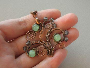 Ursula Jewelry: Jewelry tutorial - Tree pendant