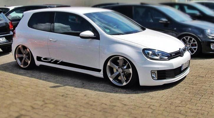Vw Golf Gti Side Graphics Decal Inserts All Models Choose Your