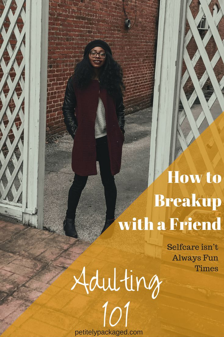 Friendships breakups are never fun, but when you find yourself initiating one, you should always take the steps to make it healthy departure. #selfcare