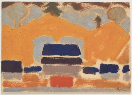 met-modern-art: Landscape with Houses by Arthur Dove Modern and...