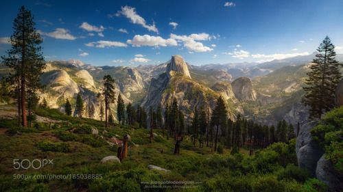 Mr. Dome by demiguel  sky travel california top valley clear dome daylight adventure half yosemite demiguel USA EEUU Mr. D