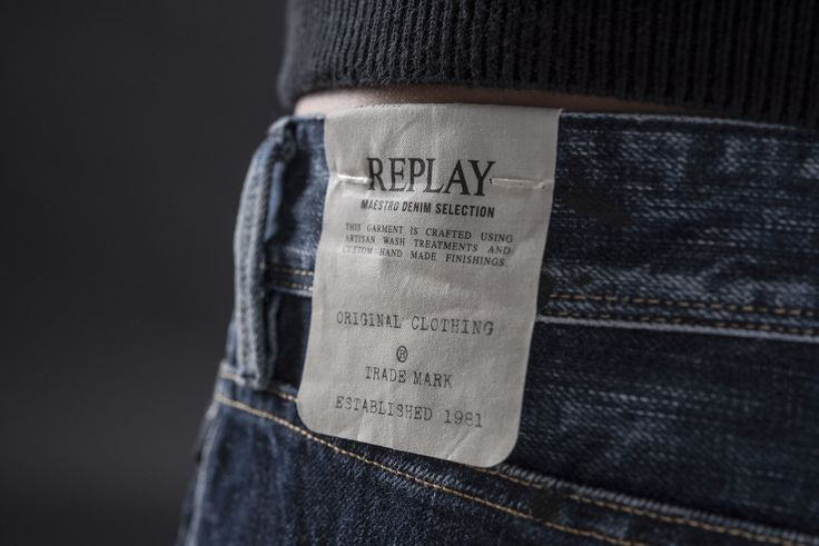 The tag says it all. The Maestro Collection by Replay.