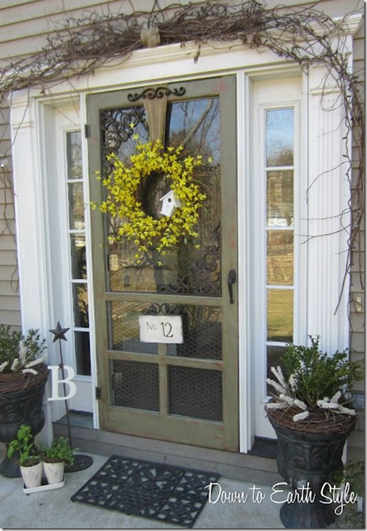159 Best Dont Let The Screen Door Hit You Images On Pinterest
