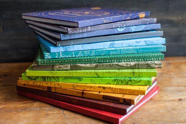 Vintage Science Hardcover Journals - Cognitive Surplus