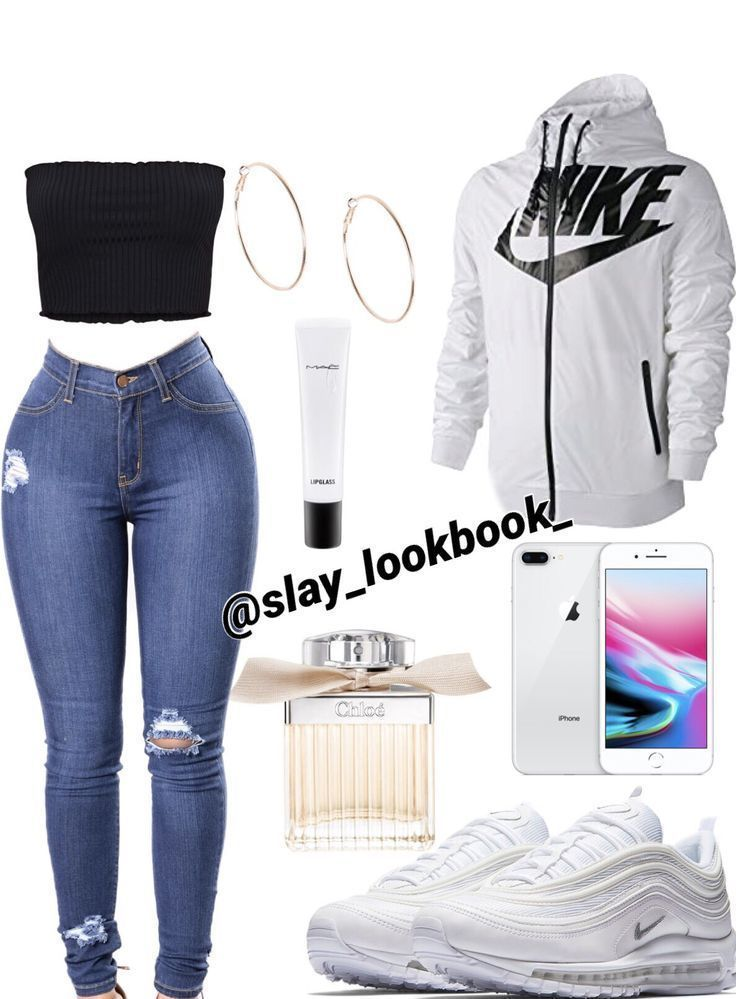 Girls cute Nike outfit idea girls outfit