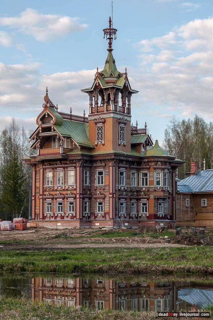 Терем Асташово (Осташево), Костромская область, Чухломский район
