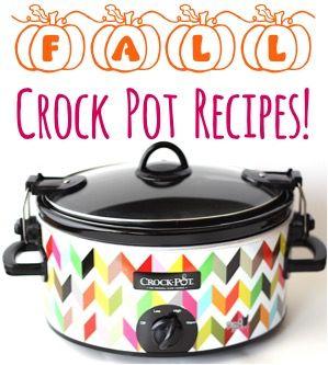 Fall Crock Pot Recipes from TheFrugalGirls.com