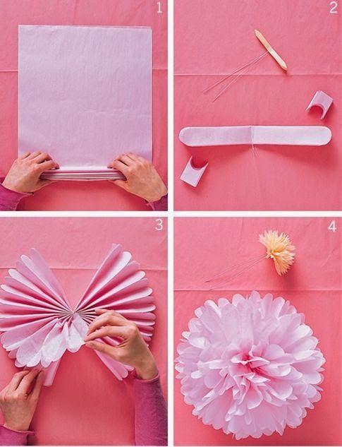 Trucuri care-ți fac viața ușoară: # 3 0 6: Cum să faci flori din hârtie