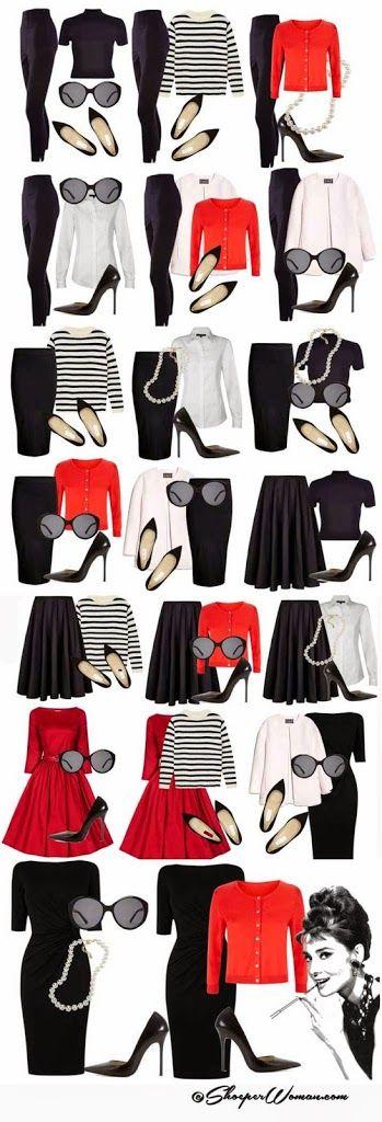 Guarda roupa em cápsulas