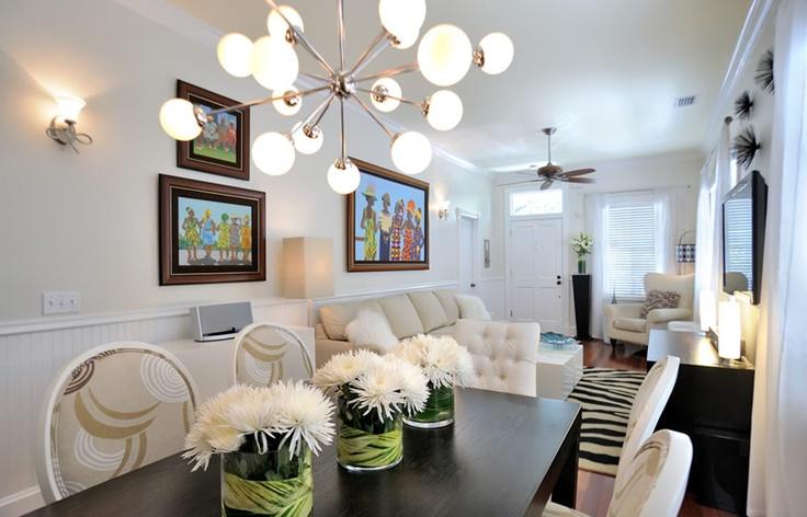 M Interior Design Key West Dining Room