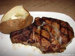 Longhorn Steakhouse : Cajun Rib-Eye