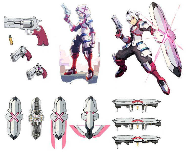Copen Concepts from Azure Striker Gunvolt
