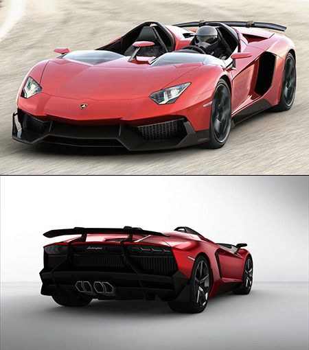 The World's Only Roofless Lamborghini Aventador