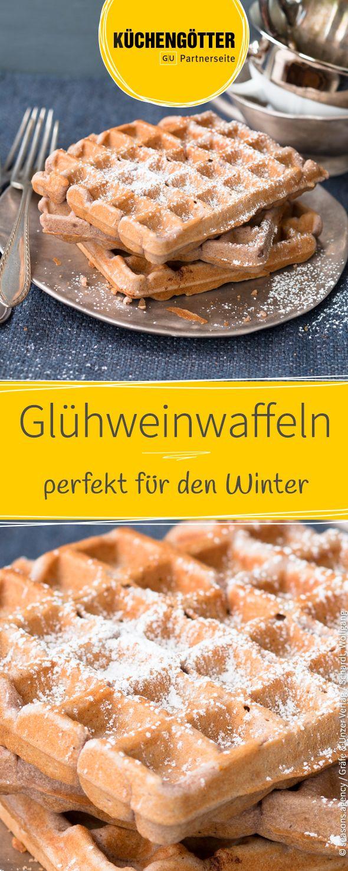 Perfekt für die kalte Jahreszeit: Rezept für leckere Glühwein-Waffeln.
