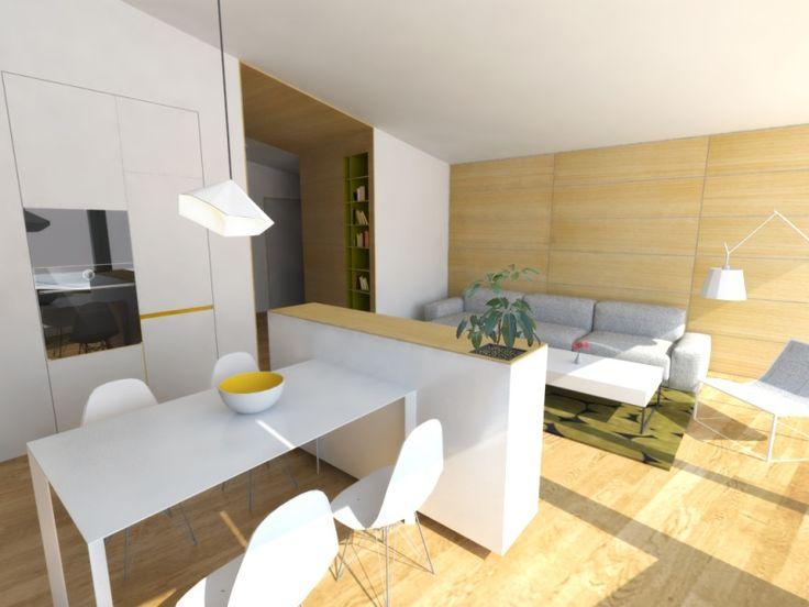 Návrh jedálne - radové domy Ružindol - Interiérový dizajn / Dining room interior by Archilab