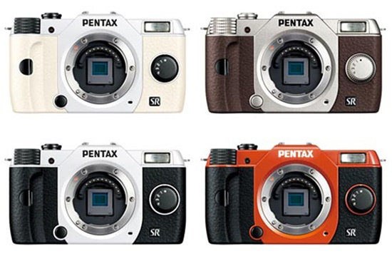 More Pentax Q10 Photos and Specs: Tiny and Colorful with Interchangeable Lenses
