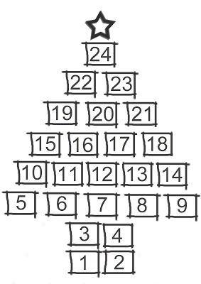 Christmas Advent Calendar Print ♥