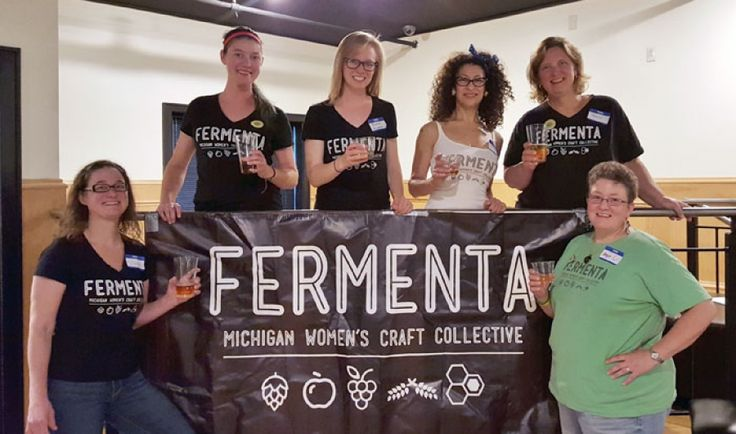 Fermenta Board Members: Stacey Roth (Secretary), Manda Geiger (Communications Director), Pauline Knighton (President), Annette May (Events Coordinator), Tracey Kusz (Treasurer) and Angie Williams (Vice President).