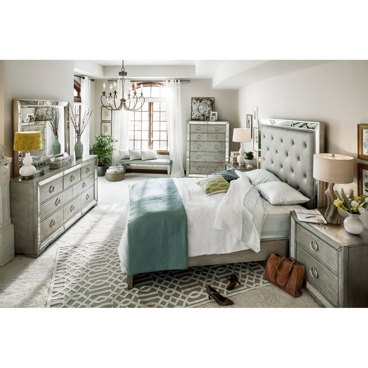 Best 25  Queen bedroom sets ideas on Pinterest You deserve the best and this is the best  Angelina Queen Bed   American  Signature  Queen Bedroom SetsBedroom  . Bedroom Set Queen. Home Design Ideas