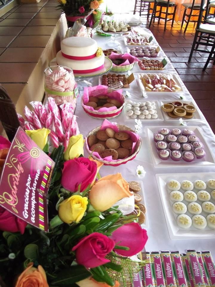 10 best candy buffet de cumplea os images on pinterest - Buffet de cumpleanos ...