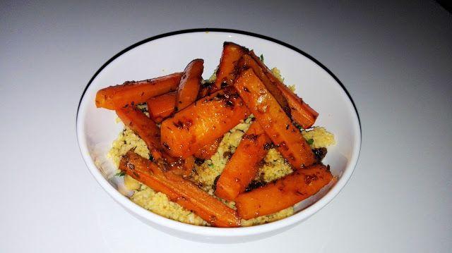 Wyprawy kulinarne: Libański kuskus z marchewką i ciecierzycą