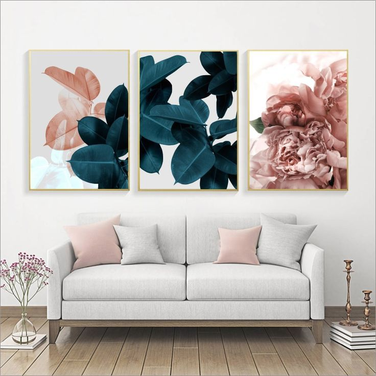 Looking For A Solid Piece Of Wall Decor For Your Home Kitchen Office Or Business Featuring A Floral Wall Art Canvases Wall Art Canvas Painting Leaf Wall Art