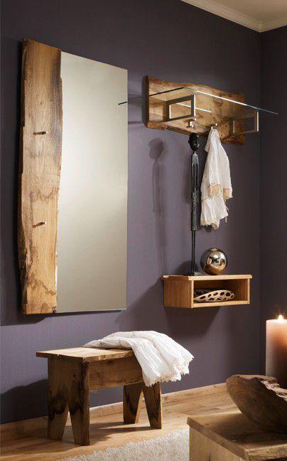 Garderobe Woodline | Aus massiver Eiche gefertigt, sind diese Flurmöbel…