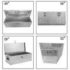 24 29 32 36 49 Aluminum Tool Box Pickup Truck Trailer Storage Underbody with Lock Was: $109.83 Now: $65.9.