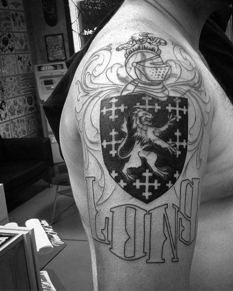 Tattoo Family Crest For Men