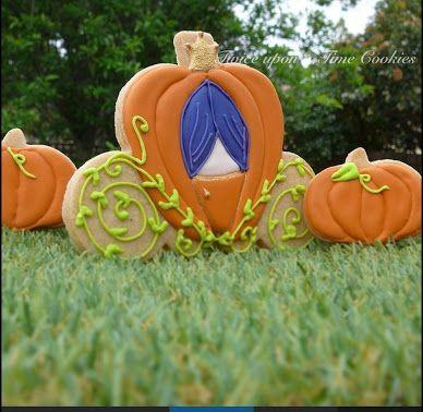 pumpkin carriage cookie - Google-Suche