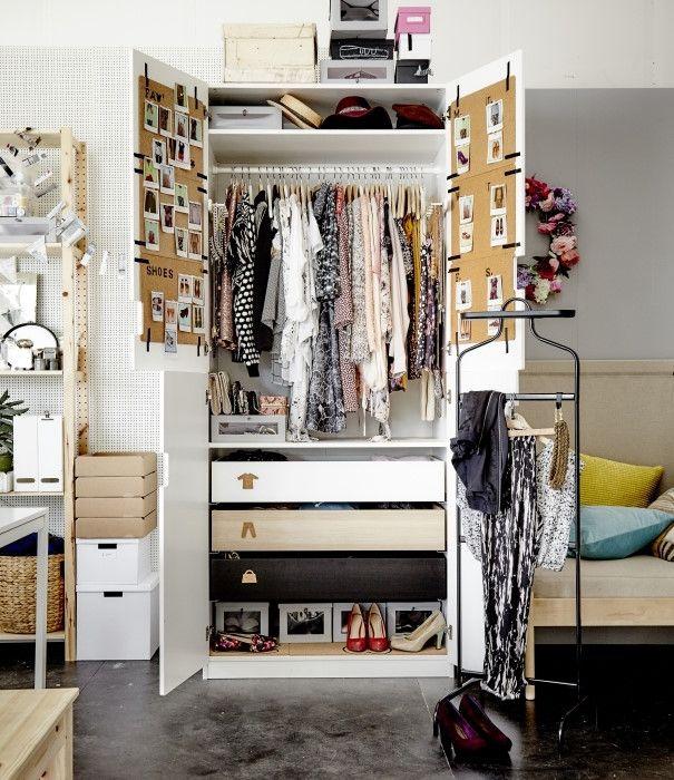 Die besten 25+ Kleidung schublade organisation Ideen auf Pinterest - ikea schrank schlafzimmer