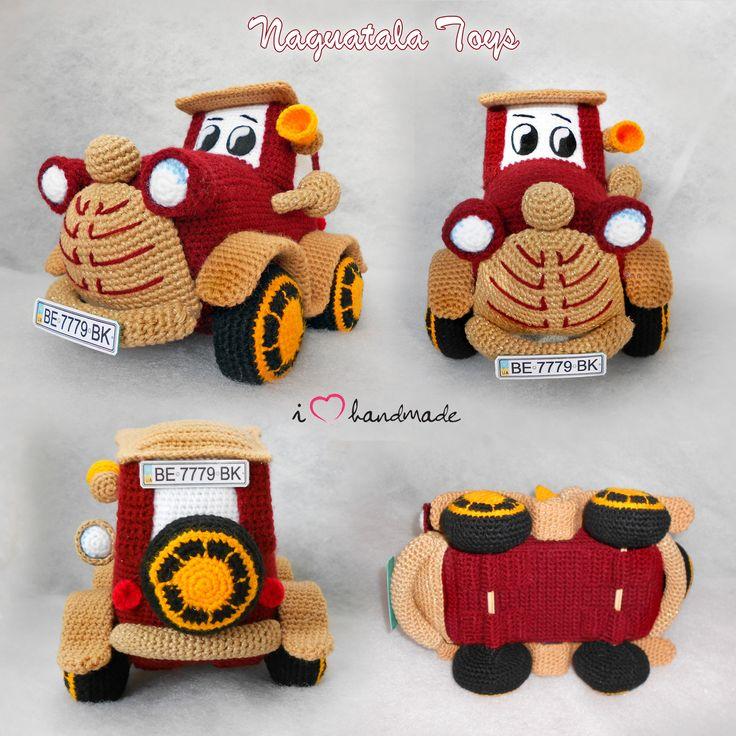 320 best Crochet Cars Trucks Bikes images by Kindabam Crochet on ...