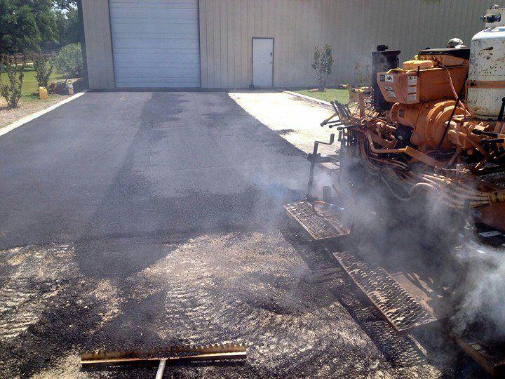 Asphalt Driveway installation in Austin, TX  near Bee Cave   Texan Paving