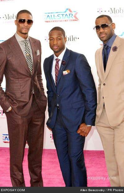 Chris Bosh, Lebron James and Dwyane Wade
