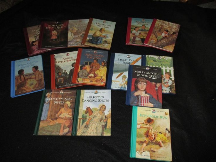 American Girl Short Stories Lot of 15 Books Addy Kirsten Kit Samantha Kaya Molly #PleasantCompany #Book