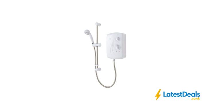 TRITON ENRICH 9.5KW ELECTRIC SHOWER, WHITE Save £19.98 Free C&C, £58 at B&Q