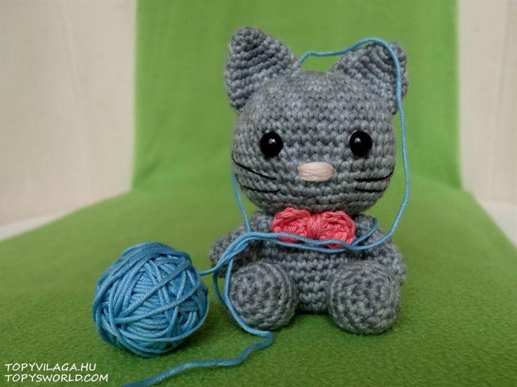 Free Amigurumi Cat : 759 best amigurumi cats images on pinterest crochet cats kitty