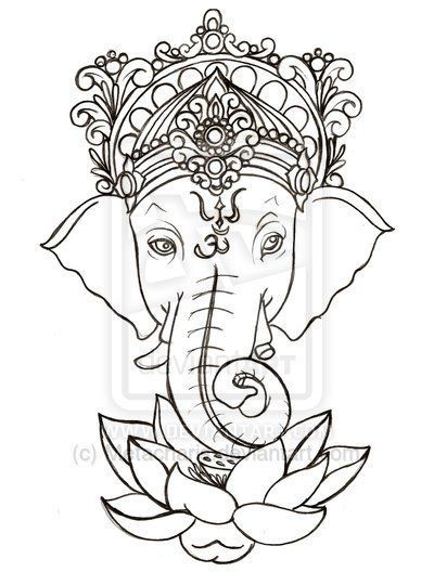 Image result for ganesha tattoo