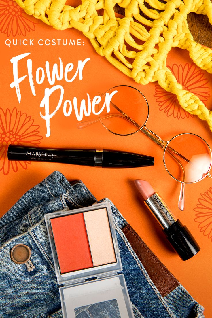 Put the hip in your DIY hippie costume this Halloween with Mary Kay® Gel Semi-Matte Lipstick in Bashful You.